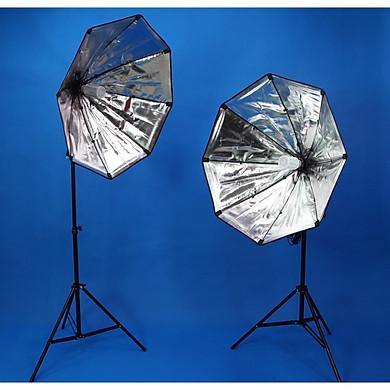Combo 2 đèn LED360 40w softbox bát giác 75cm