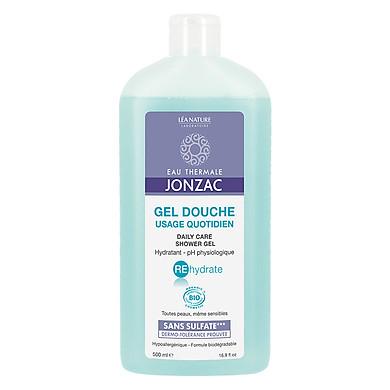 Sữa Tắm Dạng Gel Dưỡng Ẩm Cho Da Khô Jonzac Rehydrate Daily Care Shower Gel 500ml