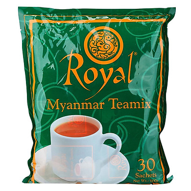 Trà Sữa Hòa Tan Royal Myanmar Teamix Royal010600 (30 Gói)