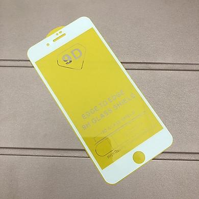 Tấm dán kính cường lực full màn hình 9D dành cho iPhone 7 plus