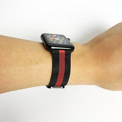 Dây đồng hồ Apple Watch loại dây Mloop lưới thép không gỉ