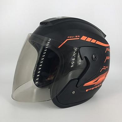 Mũ bảo hiểm 3/4 SRT tem 46 ASA6 helmets phản quang kính khói