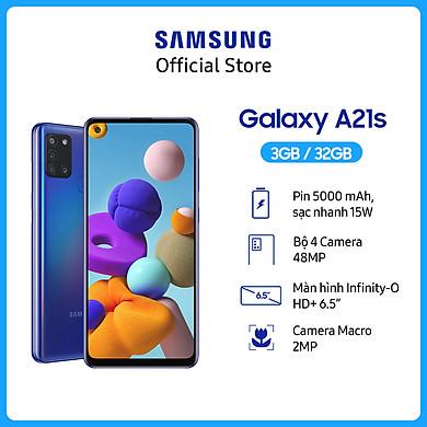 Điện Thoại Samsung Galaxy A21s – Hàng Chính Hãng