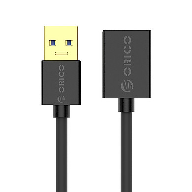 Cáp Nối Dài USB Orico U3-MAA01 USB 3.0 - Đen - Hàng Chính Hãng