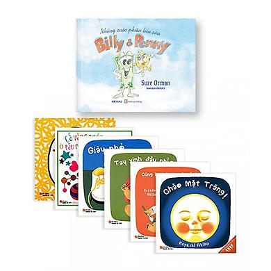 Bộ Sách 2 Cuốn: Những Cuộc Phiêu Lưu Của Billy & Penny (Sách Màu - Bìa Cứng) + Ehon Nhật Bản - Giờ Chơi Của Bé