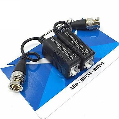 (Combo 10 bộ )Video Balun Chuyên Dùng Camera AHD - CVI- TVI 2MP-Hàng chính hãng