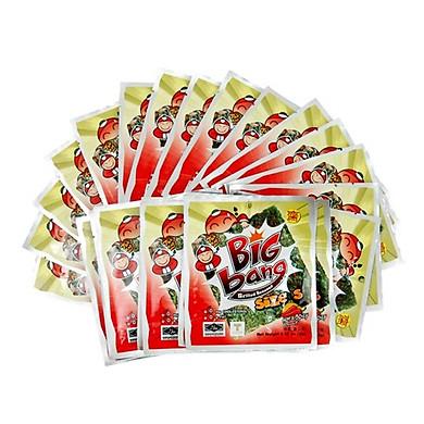 Lốc 24 gói Snack rong biển Tao Kae Noi Big Bang vị cay (2g)