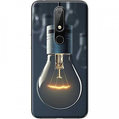 Ốp lưng dành cho Nokia 5.1 Plus mẫu Bóng đèn