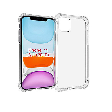 Ốp lưng Silicon dẻo trong, suốt chống sốc cho iPhone 11