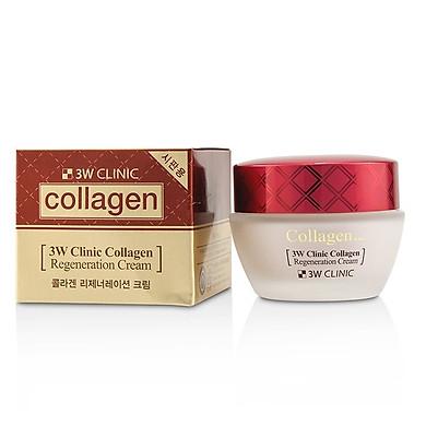 Kem dưỡng trắng da chống lão hóa Hàn Quốc cao cấp 3W Clinic Collagen Regeneration Cream (60ml) – Hàng Chính Hãng