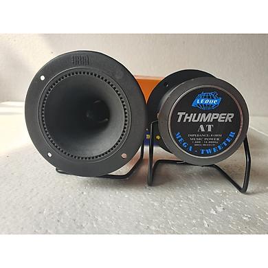 1 Đôi loa siêu treble JBM tròn, hàng chính hãng, sử dụng để lắp thêm vào hệ thống loa nghe nhạc, hát giải trí gia đình, nhà hàng, café