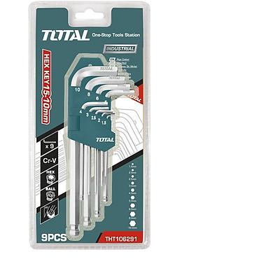 Bộ 9 chìa lục giác Total THT106291