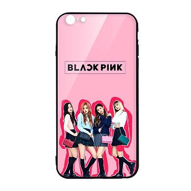 Ốp lưng CƯỜNG LỰC VIỀN ĐEN cho iPhone 6 KPOP_BLACKPINK_FASHIONISTA - Hàng chính hãng