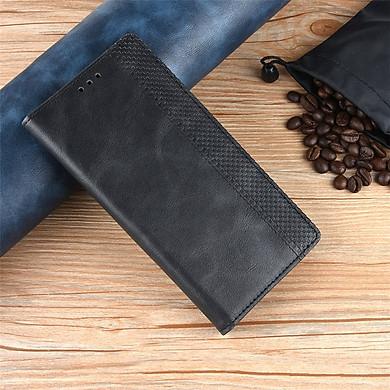 Bao da dạng ví dành cho SamSung Note 10 Lite Luxury Leather
