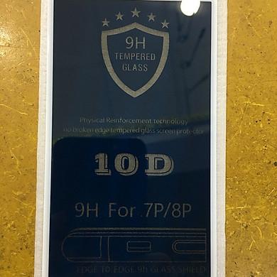 Kính chống nhìn trộm 10D cho  Iphone 7/8 plus(Trắng)