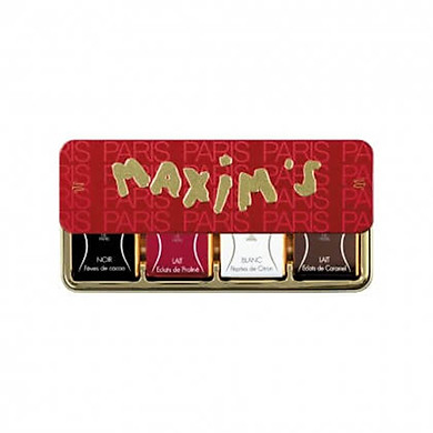 Socola 4 vị - 8 Chocolate Squares Dark, Milk, White, Caramel