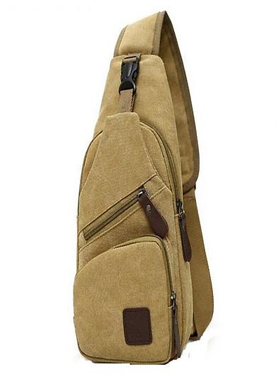 Túi đeo chéo nam du lịch DTN09-2TI - Nâu