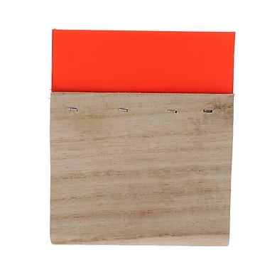 Screen Printing Squeegee Wooden Handle Ink Scraper Scratch Board