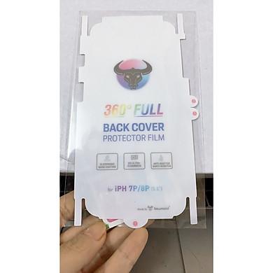 Miếng dán dẻo PPF mặt sau ( mặt lưng) chống vân tay trầy xước cho Iphone 7Plus 8Plus hàng đẹp