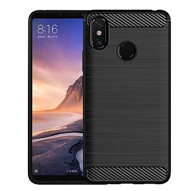 Ốp Lưng Chống Sốc Vân Cabon Cho Điện Thoại Xiaomi Mi Max 3