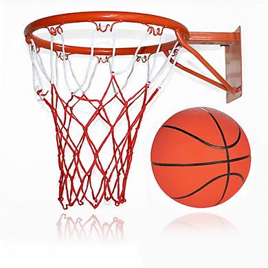 Bộ khung và bóng rổ tiêu chuẩn - có kèm lưới khung,túi đựng bóng và kim bơm bóng