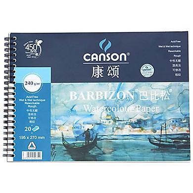 Giấy Vẽ Màu Nước Canson