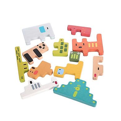 Đồ chơi gỗ xếp hình Miniso thế giới động vật 435g - Hàng chính hãng