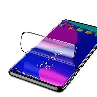 Bộ 2 Miếng dán màn hình Silicon cho Samsung Galaxy S10 Hiêụ Baseus Soft Screen mỏng 0.15mm cảm ứng vân tay mượt chống chói bảo vệ mắt - Hàng chính hãng