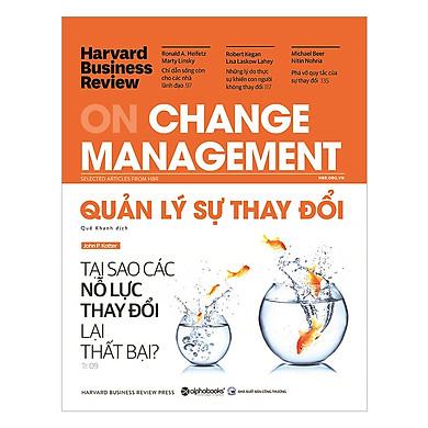 Ấn Phẩm Dành Cho Doanh Nhân: HBR On Change Manegement - Quản Lý Sự Thay Đổi Tặng Sổ Tay (Khổ A6 Dày 200 Trang)