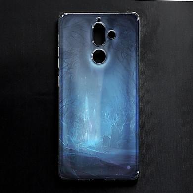 Ốp lưng cứng in hình dành cho Nokia 7 Plus - mẫu 263