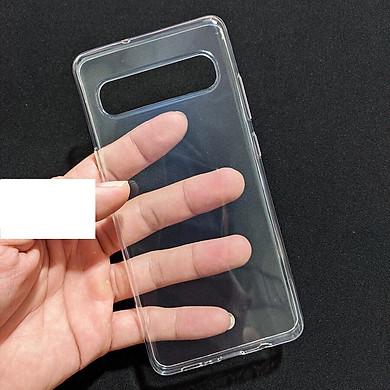 Ốp lưng silicon cho Samsung Galaxy S10 5G (trong suốt)- Hàng nhập khẩu