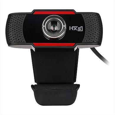 HXSJ S20 High-definition Webcam Manual Focus Computer Camera Built-in Sound Absorbing Microphone for Desktop Computer