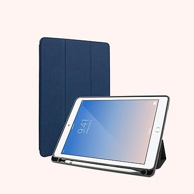 Bao da Ipad 10.2 (Thế hệ 7 – 2019) hiệu Mutural _ Màu xanh_ Hàng nhập khẩu
