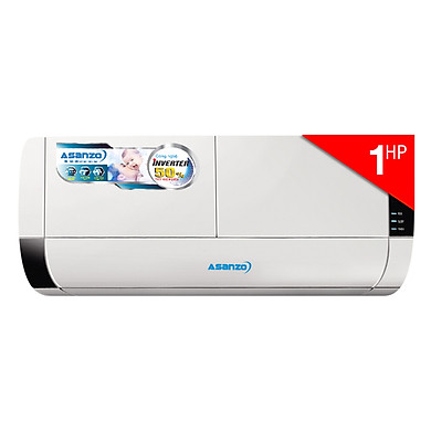 Máy Lạnh Inverter Asanzo K9 (1.0HP) - Hàng Chính Hãng