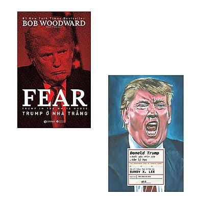 Bộ 2 cuốn sách không thể bỏ qua về tổng thống Donald Trump: Trump Ở Nhà Trắng - Donald Trump Dưới Góc Nhìn Tâm Lý Học