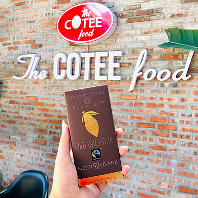 Chocolate Đen Organic & Fair 92%100g