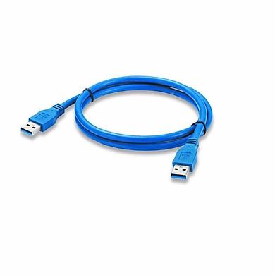 Dây 2  Đầu Đực USB Chuẩn 3.0 Dài 60cm