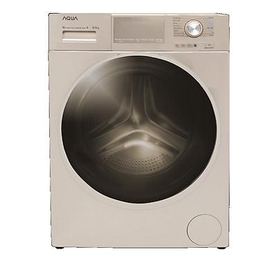 Máy giặt cửa trước INVERTER 10,5 KG AQUA AQD-D1050E N - HÀNG CHÍNH HÃNG