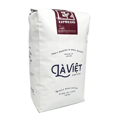 Cà phê hạt Arabica 100% chuyên dụng pha máy Espresso hiệu Là Việt 1000gr