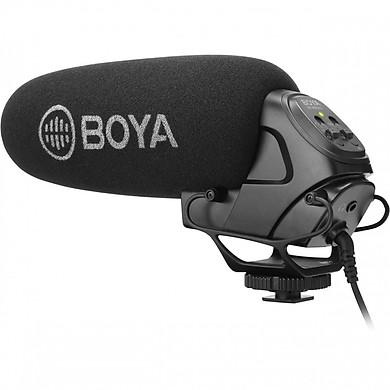 Micro shotgun cho máy ảnh, máy quay Boya BY-BM3031 - Hàng chính hãng