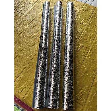 bộ 3 cuộn giấy dán tường tráng nhôm cách nhiệt(60cm x 3m)