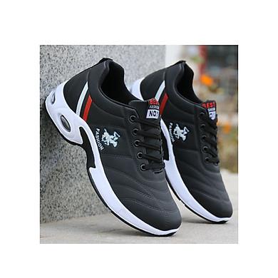 Giày thể thao nam lót thoáng khí với thiết kế đế có đệm khí
