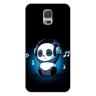 Ốp lưng dẻo cho điện thoại Samsung Galaxy S5 _Panda 05