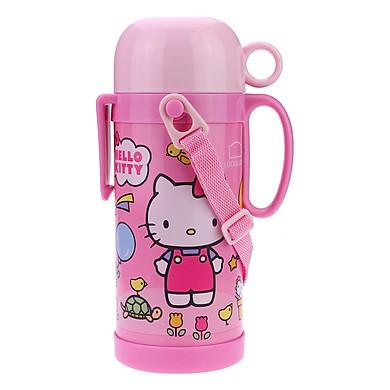 Bình Giữ Nhiệt Hello Kitty Funny Zoo Lock&Lock HKT312P (600ml)