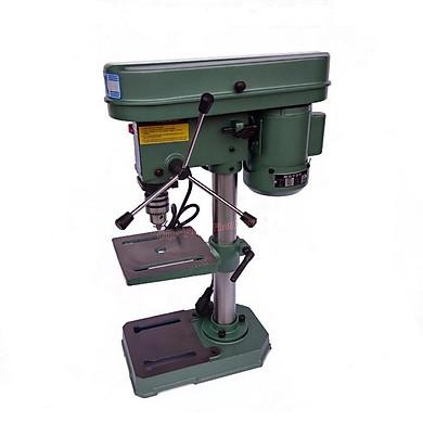 Máy khoan bàn XQ-13 1/3 HP là máy khoan bàn cố định loại nhỏ,có đế trụ và bàn khoan,chuyên dụng để khoan vật liệu dạng tấm như sắt,gỗ.