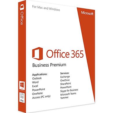 Phần mềm Microsoft Office 365 Business Premium - Hàng chính hãng