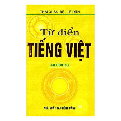 Từ Điển Tiếng Việt 40.000 Từ