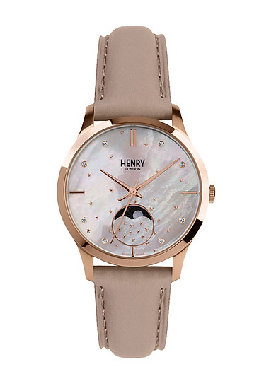 Đồng Hồ Nữ Henry London HL35-LS-0320 MOON PHASE