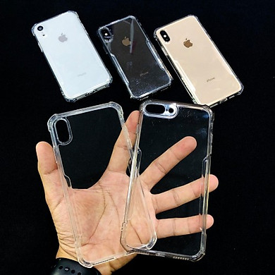 Ốp lưng chống sốc cao cấp Xundd cho các dòng iPhone 7 Plus / 8 Plus - X/XS - XR - XS Max - 11 - 11 Pro - 11 Pro Max Trong suốt - Hàng nhập khẩu
