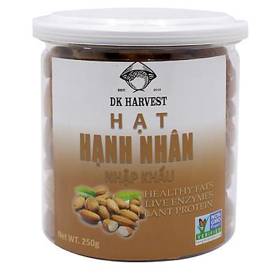 Hạt Hạnh Nhân Rang Mộc DK Harvest